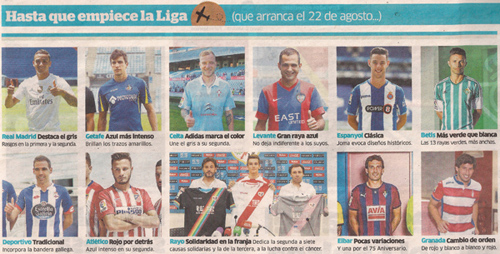 2015-07-23- marca- Equipaciones deportivas fútbol 1ª división 2